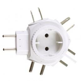 Adapter elektryczny 3212 biały