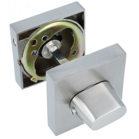 Blokada WC mod.15 z szyldem 51x51mm zamak chrom mat