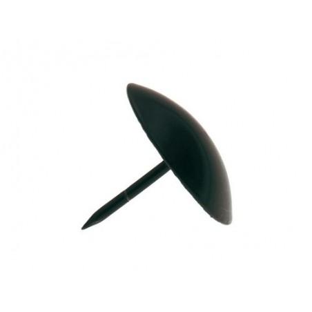 Ćwiek ozdobny okrągły fi. 40mm czarny mod.1