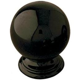 Gałka meblowa 60-30 czarna