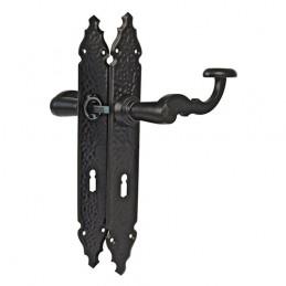 Klamka czarna klucz 90mm...
