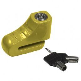 Kłódka 90-75x26x5 żółta DIS