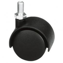 Kółko 1501-45 M8 nylon-czarne
