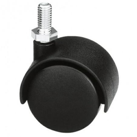Kółko 1501-50 M8 nylon-czarne