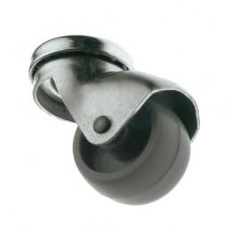 Kółko 2507-40 nylon-szare