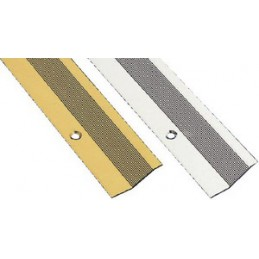 Listwa dywanowa 2-820 srebrna