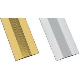 Listwa dywanowa 3-720 srebrna