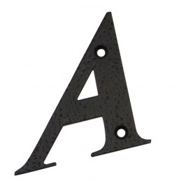 "Litera ""A""-10cm czarna DISPLAY"