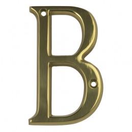 "Litera ""B""-10cm mosiężna..."
