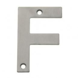 """Litera """"F""""-10cm INOX"""