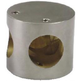 Łącznik relingu 100-50x43 INOX