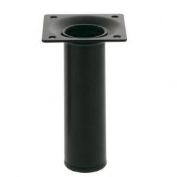 Noga 4-30x400 okrągła czarna