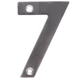 Numer 7 - 10cm INOX blister