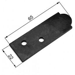 Podkładka ustal.czarna 3mm...