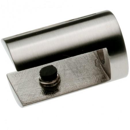 Podpórka półki szkl. 36 nikiel satyn 6mm