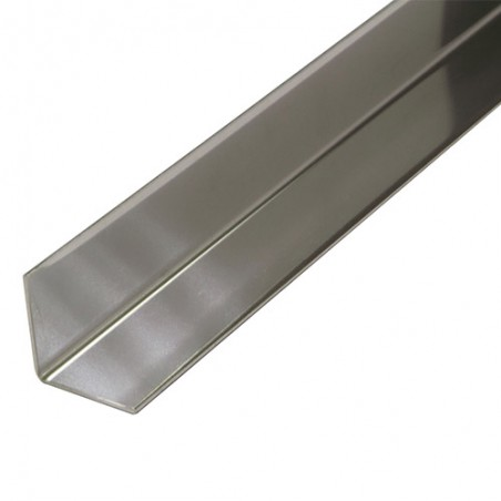 Profil kątowy 20x20mm dł. 2m inox