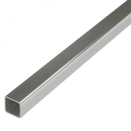 Profil kwadratowy 20x20mm dł. 2m inox