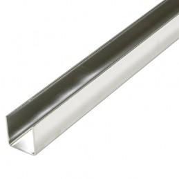 Profil U 15x15mm dł. 1m inox