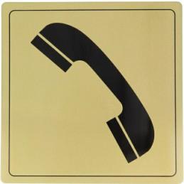Tabliczka Telefon 14x14cm...