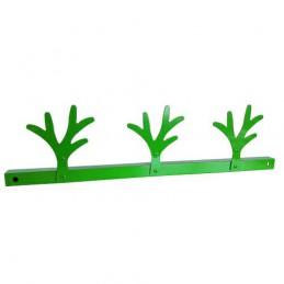 Wieszak 3X ALBER zielony