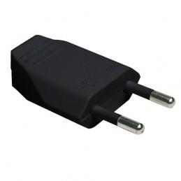 Wtyczka elektryczna czarna...