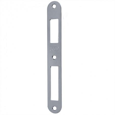 Zaczep zamka ALFA-BETA symetryczny 165x22 chrom