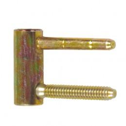 Zawias 2150-16 F żółty ocynk