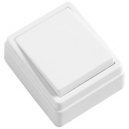 Łącznik 3830 przyciskowy biały